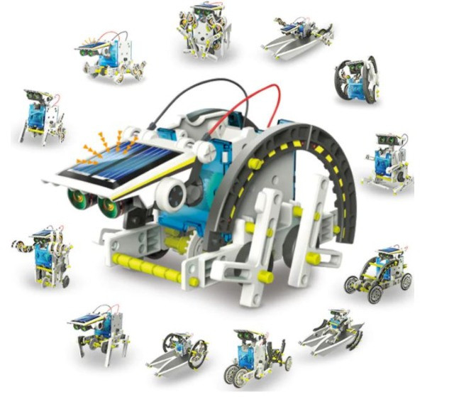 Kit Educacional Montagem Robô Solar 13 em 1 - Foto 3