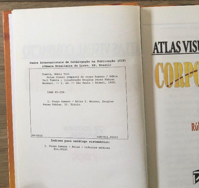 Atlas Visual compacto corpo humano capa dura livro novo R$45,00 C. Frio - Foto 4