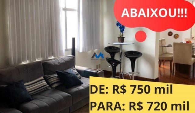 Apartamento à venda com 4 dormitórios em Santo antônio, Belo horizonte cod:ALM975