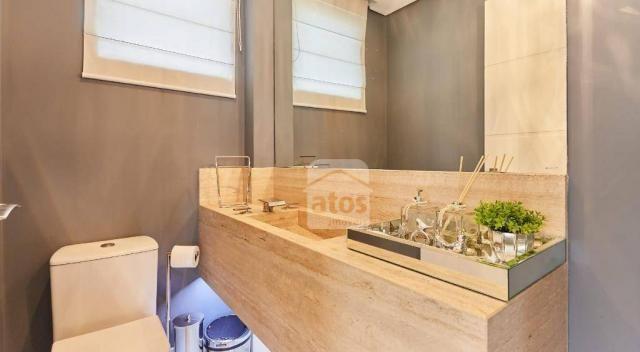 Casa em Condomínio Clube com 5 suítes à venda, 404 m² por R$ 2.390.000 - Pinheirinho - Cur - Foto 10