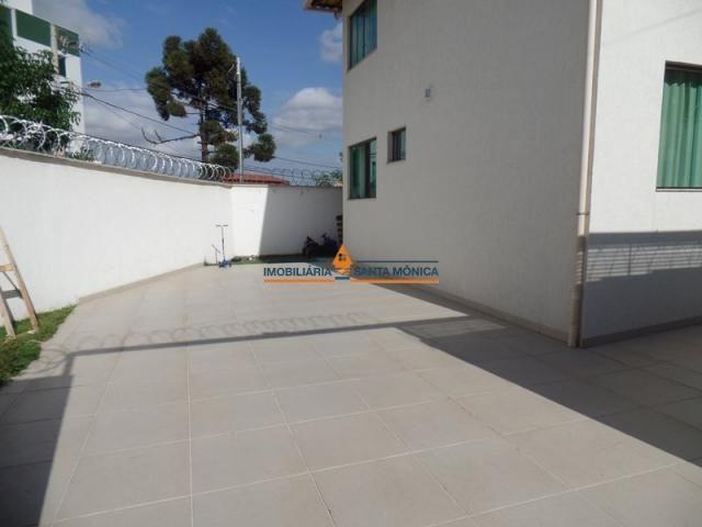 Casa à venda com 4 dormitórios em Santa mônica, Belo horizonte cod:16501