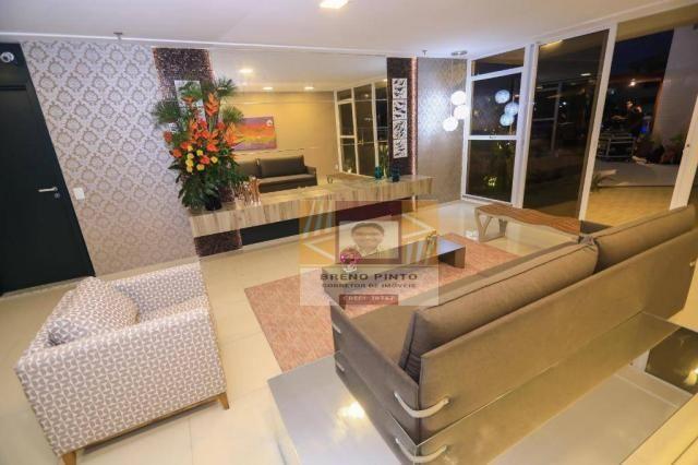 Apartamento no Serenitá Cócó com 3 dormitórios à venda, 98 m² por R$ 799.900 - Cocó - Fort - Foto 14