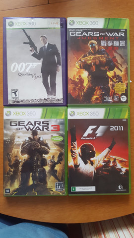 4 jogos Xbox 360