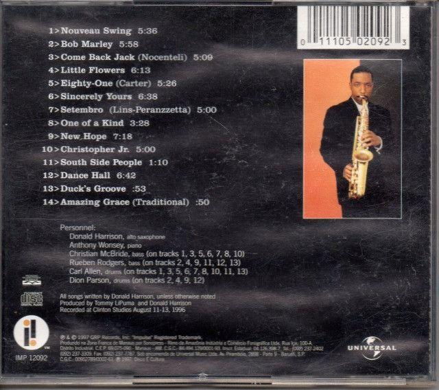 Cd - Jazz - Donald Harrison - Nouveau Swing - Foto 2