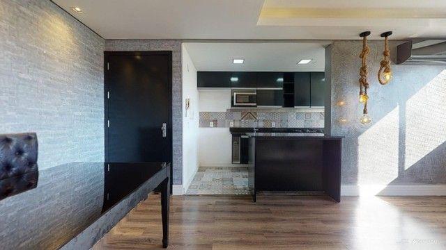 Apartamento Mobiliado com 59 m² de 2 dormitórios no Jardim Carvalho