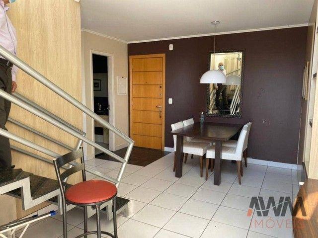 Apartamento Duplex com 2 dormitórios à venda, 79 m² por R$ 420.000,00 - Setor Oeste - Goiâ