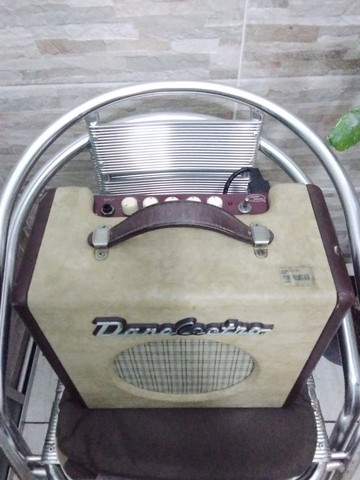 Caixa Amplificada de Guitarra Danelectro(Rara no Brasil) - Foto 4
