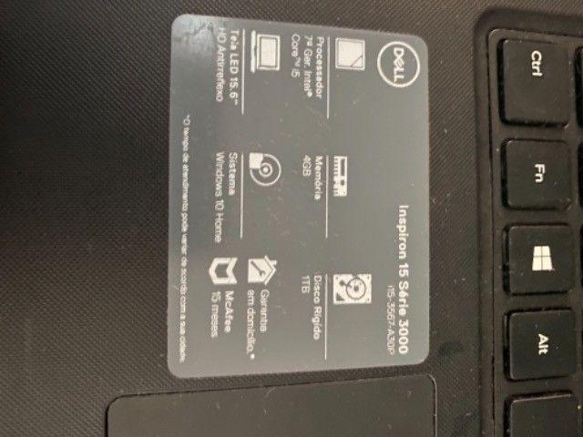 Notebook Dell Inspiron 15  - Foto 3
