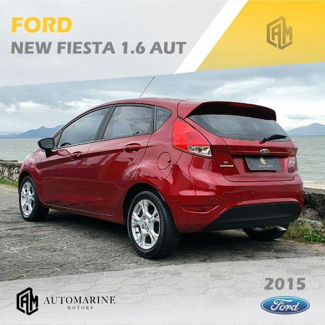 Ford New Fiesta SE 1.6 16v Aut. Único Dono - Muito Novo  - Foto 4