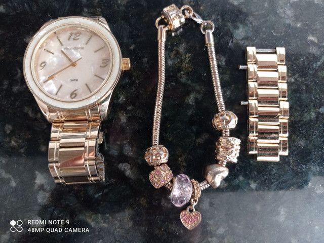 Relógio Mondaine marmorizado - Foto 2