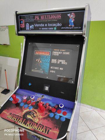 Fliperama Arcade 1.000 Jogos Venda e locação ABC - Foto 5