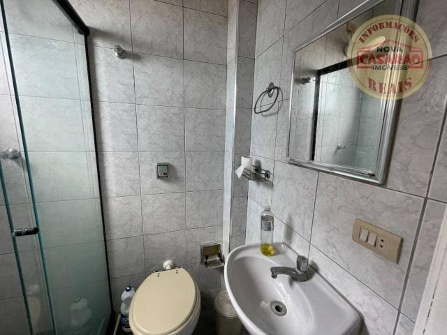 Apartamento com 2 dormitórios à venda, 72 m² por R$ 330.000 - Guilhermina - Praia Grande/S - Foto 15