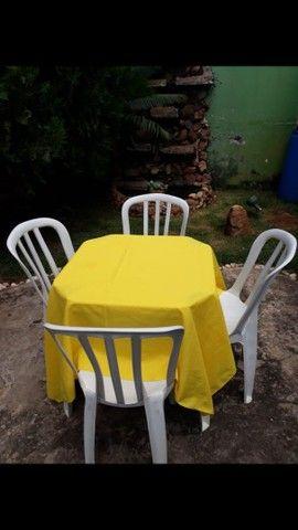 Mesas e cadeiras (LOCAÇÃO) - Foto 5