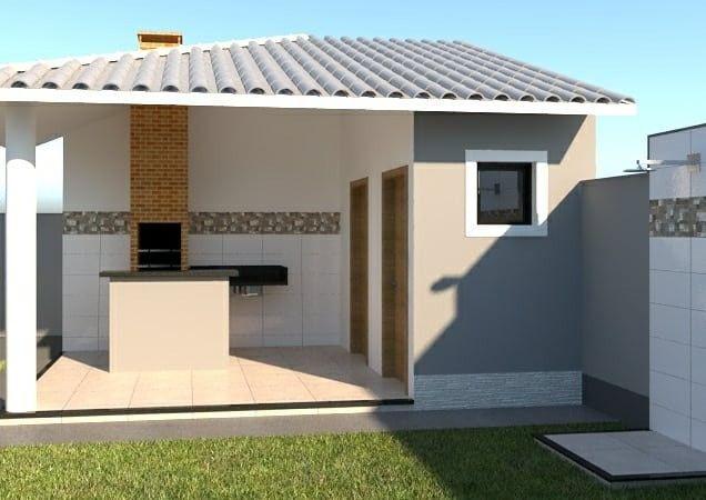 Casa de 1ª locação para venda com 3 quartos, suíte, garagem em Itaipuaçu - Maricá - Foto 4