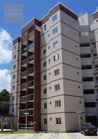 Apartamento com 3 dormitórios à venda, 77 m² por R$ 329.000 - Coité - Eusébio/CE