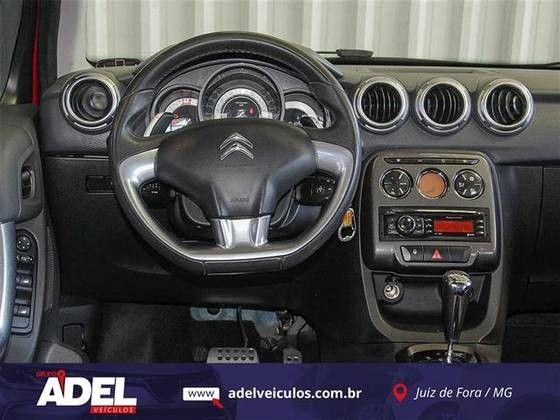 C3 2013/2013 1.6 EXCLUSIVE 16V FLEX 4P AUTOMÁTICO - Foto 8