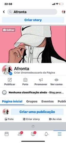 Vendo Páginas de Facebook
