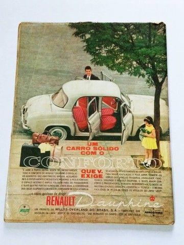 Quatro Rodas Nº9 Abril 1961 - FNM J.K., Candango, Dauphine - Foto 3