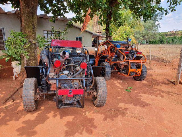 Gaiola buggy motor ap 1.6  - Foto 2