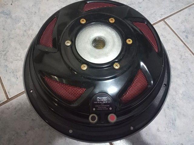 Subwofer pionner TS SW301 250 RMS + Caixa