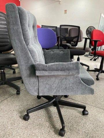 Cadeira / poltrona giratoria presidente   - Foto 2
