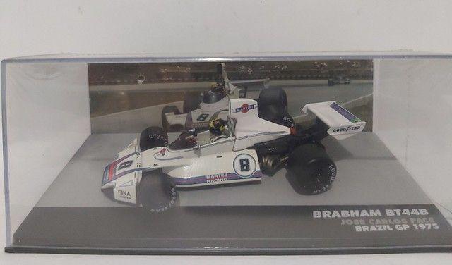 MINIATURA  BRABHAM BT44B - JOSE CARLOS PACE - BRAZIL GP 1975 199