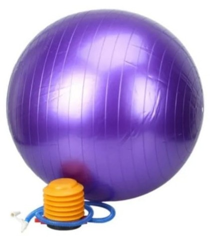 Bolas De Pilates - 75 Cm - Anti Burst - Bomba grátis