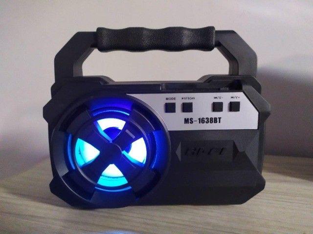 Caaiixa de som Mobile MS-1638BT Bluetooth USB Sd Rádio - Foto 3