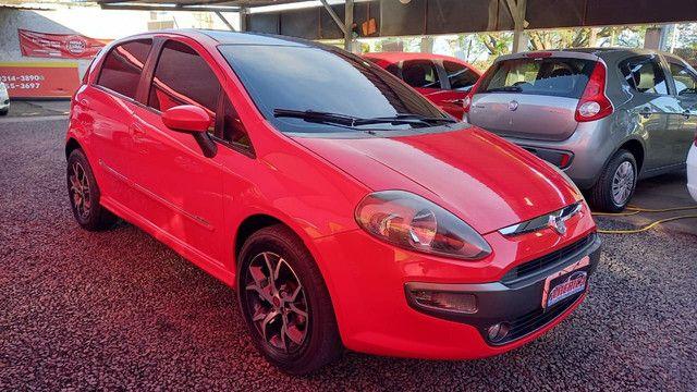 Fiat punto Sporting 1.8 flex novinho top - Foto 2