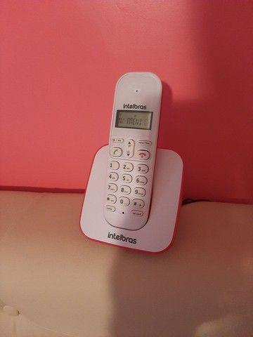 Telefone sem fio intelbras novo - Foto 2