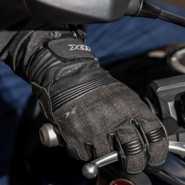 Luva X11 Urban Couro Motoqueiro Motociclista -Tamanho G - Foto 3