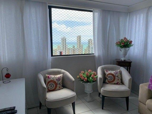 Apartamento em Boa Viagem, lindo, com 3 quartos, 2 vagas e vista mar. - Foto 20