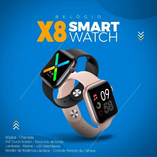 Smartwatch X8 novo modelo 2021 - Foto 5