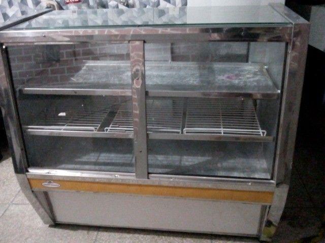 Balcão duas portas expositor refrigerado 220v