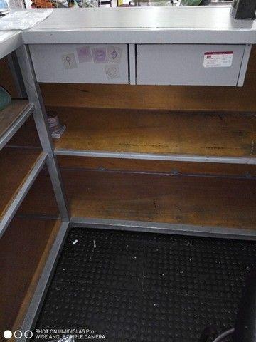 Balcão caixa em L - Foto 4