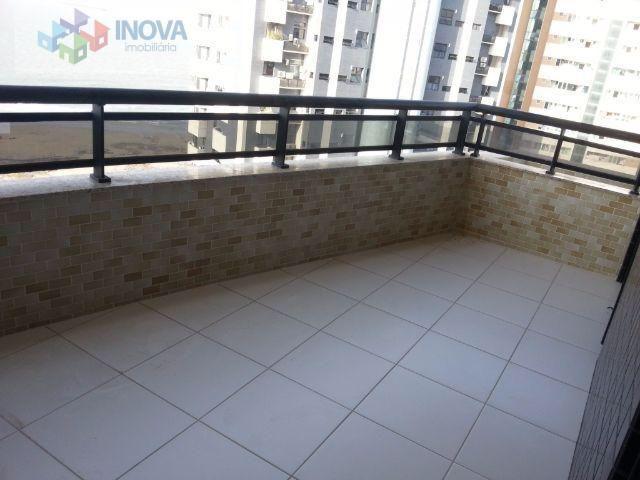 Apartamento na Ponta do Farol| 3 suítes| varanda Gourmet| torre unica| 161m