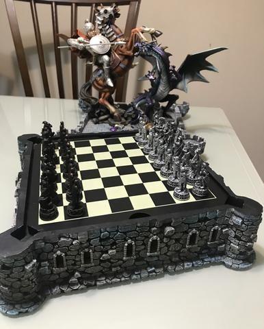 Vendo Tabuleiro de xadrez de luxo - Foto 3