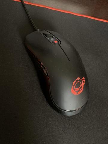 Periféricos gamer, teclado, mouse e mousepad