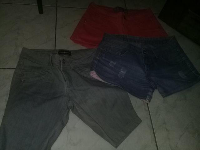 Lote de short jeans - Foto 2