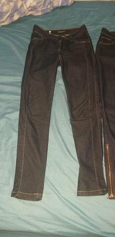 Calças pouco usadas, veste 34. damiller