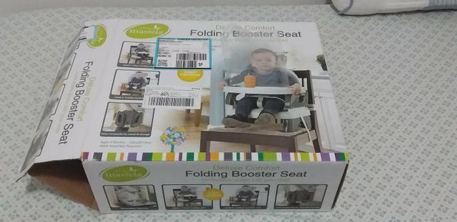 Cadeira de alimentação infantil portátil - Foto 4