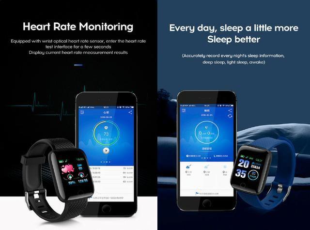 Entrega Grátis Maceió * Relógio Smartwatch Bakeey 116 Plus Batimentos Pressão Passos - Foto 2