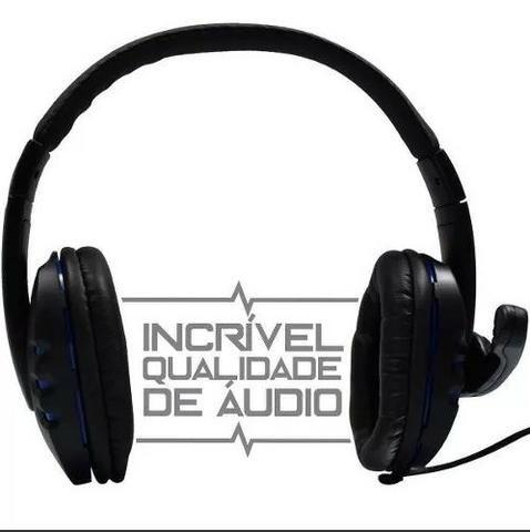 Fone Ouvido Gamer Usb Headphone Microfone Ps4 Pc Notebook .5.1 - Foto 3