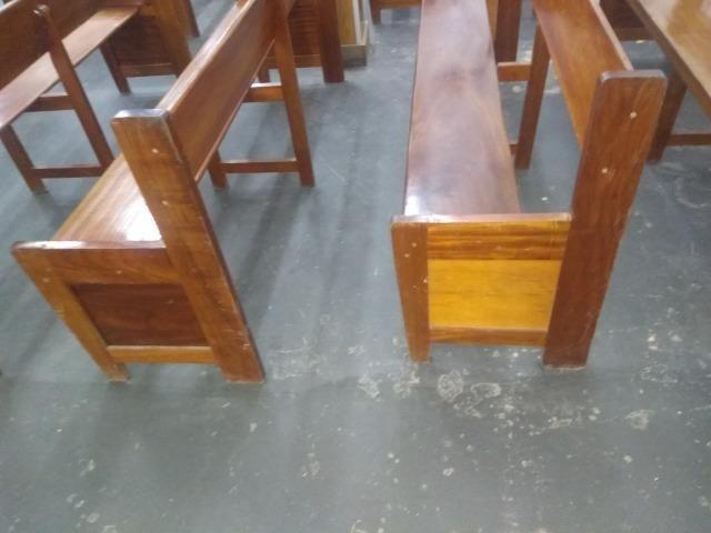 Bancos de madeira - Foto 5