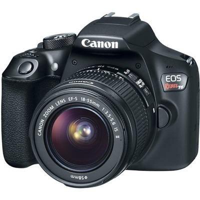 Câmera Canon EOS Rebel T6 com 2 Lentes: 18-55mm + 75-300mm - Foto 2