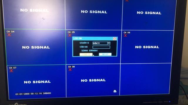 Vendo Dvr 8 canais com 4 câmeras - Foto 4