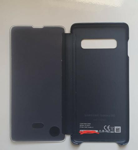 Vendo case Clear View Cover para s10 original Samsung