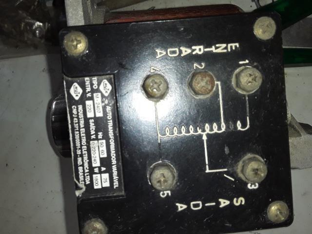 Amperimetro auto transformador varial - Foto 4