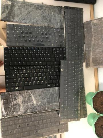 Lote teclados notebook