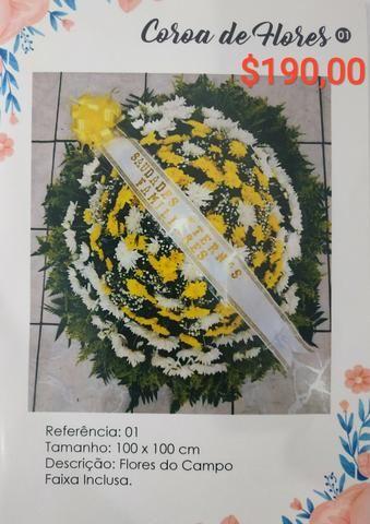 Coroas funebres
